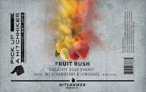 Fruit Rush Strawberry - Smoothie Sour Shandy - 4-Pack